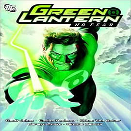 Green Lantern: No Fear Books