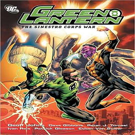 Green Lantern: Sinestro Corps War Books