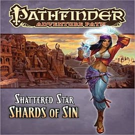 Pathfinder Adventure Path: Shattered Star: Part 1: Shards of Sin Books