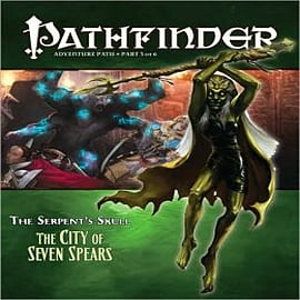 Pathfinder Adventure Path: The Serpent's Skull: Part 3: The City of Seven Spears Books