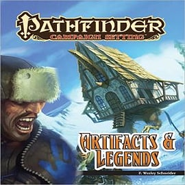 Pathfinder Campaign Setting: Artifacts and Legends Books