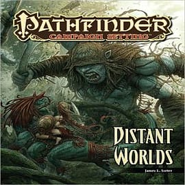 Pathfinder Campaign Setting: Distant Worlds Books