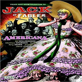 Jack of Fables: Vol. 4: Americana Books