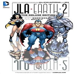 JLA Earth 2 HC Deluxe Edition Books