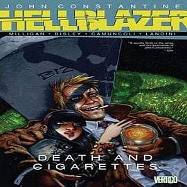 John Constantine Hellblazer Death and Cigarettes Books