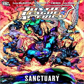 Justice League of America Sanctuary Books
