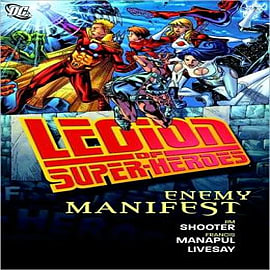 Legion of Super Heroes Enemy Manifest Books