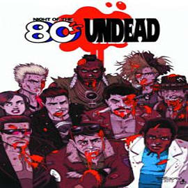 Night of the 80's Undead Books