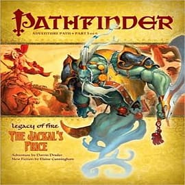 Pathfinder Adventure Path: Legacy of Fire: No. 3: The Jackal's Price Books