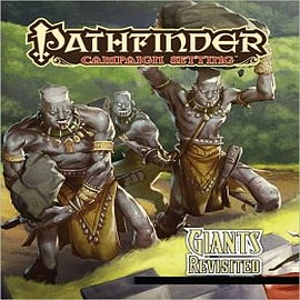 Pathfinder Campaign Setting: Giants Revisited Books