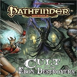 Pathfinder Module: Cult of the Ebon Destroyers Books