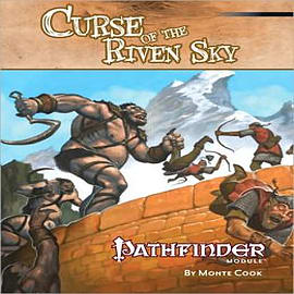 Pathfinder Module: Curse of the Riven Sky Books