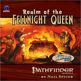 Pathfinder Module: Realm of the Fellnight Queen Books