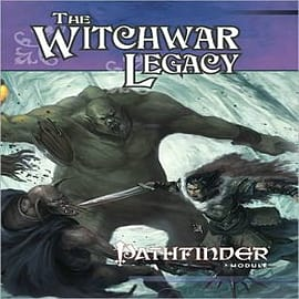 Pathfinder Module: The Witchwar Legacy Books