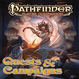 Pathfinder Player Companion: Quests & Campaigns Books