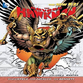 Savage Hawkman Volume 2: Wanted TP (The New 52) Books
