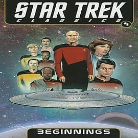 Star Trek Classics: Volume 4: Beginnings Books