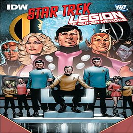 Star Trek/legion of Super-heroes Books