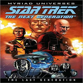 Star Trek: Next Generation - The Last Generation Books