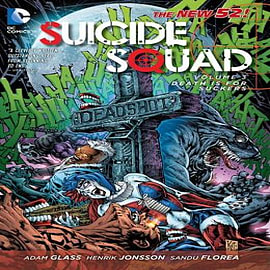 Suicide Squad TP Vol 3 Death is for Suckers (The New 52) Books