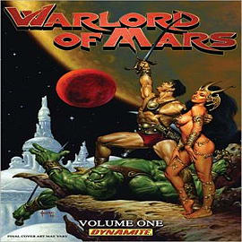 Warlord of Mars Books