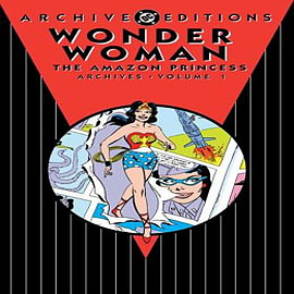 Wonder Woman Amazon Princess Archives: Volume 1 Books