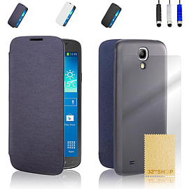 Samsung Galaxy S4 Slim-flip cover - Deep Blue Mobile phones