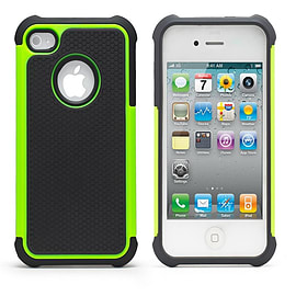 iPhone 5C Dual Layer shockproof case - Green Mobile phones