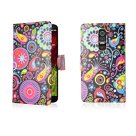 LG G2 PU leather design book case - Jellyfish Mobile phones