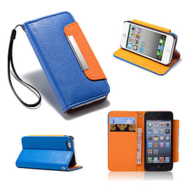 Samsung Galaxy S3 PU leather Stand book case - Deep Blue Mobile phones