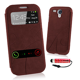 Samsung Galaxy S3 S-View window case - Red Mobile phones