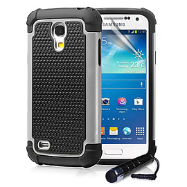 Samsung Galaxy S4 Dual-layer shockproof case - Grey Mobile phones