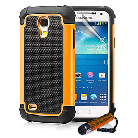 Samsung Galaxy S4 Dual-layer shockproof case - Orange Mobile phones