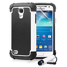 Samsung Galaxy S4 Dual-layer shockproof case - White Mobile phones