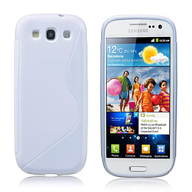 Samsung Galaxy S4 S-Line gel case - White Mobile phones