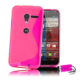 Motorola Moto E S-Line Gel case - Hot Pink Mobile phones