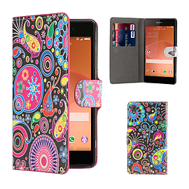Sony Xperia Z2 PU leather design book case - Jellyfish Mobile phones