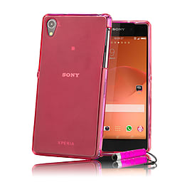 Sony Xperia Z2 Crystal gel case - Hot Pink Mobile phones