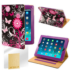 Sony Xperia Z2 Tablet PU leather design book case - Gerbera Mobile phones