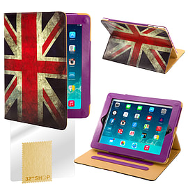 Sony Xperia Z2 Tablet PU leather design book case - Union Jack Mobile phones