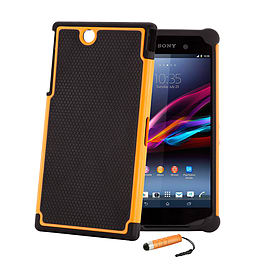 Sony Xperia Z Ultra Dual-layer shockproof case - Orange Mobile phones