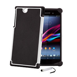 Sony Xperia Z Ultra Dual-layer shockproof case - White Mobile phones