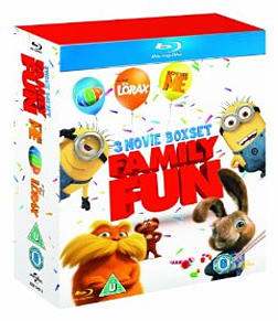 Dr Seuss The Lorax / Despicable Me / Hop Boxset Blu-ray