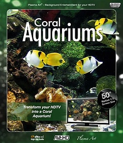 Plasma Art - Coral Aquariums Blu-ray