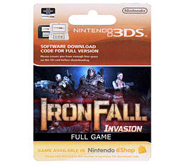 Iron Fall Invasion Full Game 3DS