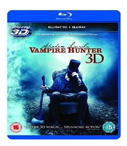 Abraham Lincoln Vampire Hunter 3D Blu-ray