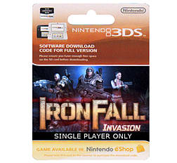 Iron Fall Invasion - Singleplayer Game Only 3DS