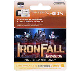 Iron Fall Invasion - Multiplayer Game Only 3DS