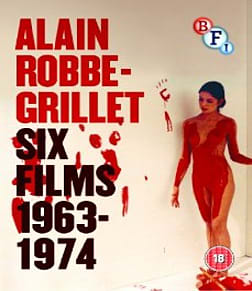 Alain Robbe-Grillet: Six Films 1963-1974 Blu-ray