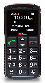 TTfone Dual 2 (TT59) Basic Simple Senior Mobile Phone Big Buttons SOS Button Large Display Dual Sim Phones